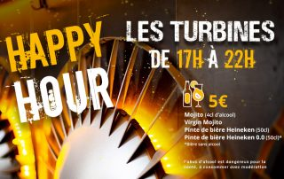 Bistrot en ville // Les Turbines - Happy Hour